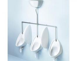 The Armitage Shanks Sanura urinal is made from vitreous china and can have either concealed or exposed service connections which makes it extremely suitable for many locations.   This urinal bowl is supplied in the 40cm size; 50cm version also available, ma...