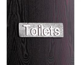 Aluminium WC Toilet Door Sign (PWD-WC) image