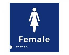 Female Braille Sign (BS0006) image