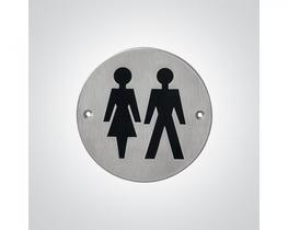 Stainless Steel Unisex Sign (BC5463-03) image