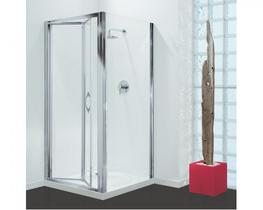 Coram Premier Bi-Fold Glass Shower Screen Door (PBF76CUC) image