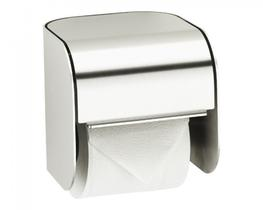 Stainless Steel Single Toilet Roll Holder (XINX677) image