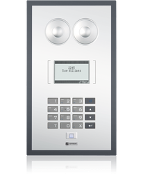 WS 800F - Membrane-protected station with LCD display image