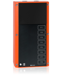 EX 7008 - Digital 2-wire station for Ex zones, without loudspeaker and 8 function keys image