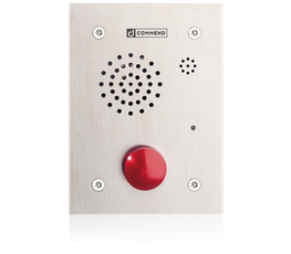 EF 862AM - Vandal resistant emergency call station with mushroom button image