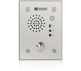 EF 962H - Vandal resistant IP station with one call button made from high grade steel. image