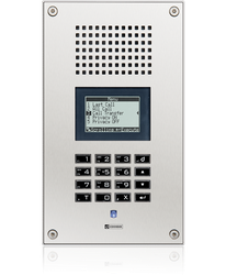 WS 800V - Vandal resistant station with full keypad and LCD display image