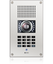 WS 500V CM - Vandal resistant station with full keypad and video camera image