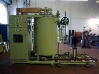 The Electrode Steam Boilers in the Collins Walker range have a steam output range of 85 Kg/Hr (ES5) up to a maximum of 6,500 kg/h (ES240). Please note that the maximum output in this instance would require a 690 volt 3–phase electrical supply.  Technical Spe...
