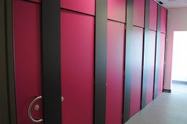 Meeting the demands of modern education and mixed use environments, Skyline is a floor to ceiling system providing the user with maximum privacy and comfort. A full range of complimentary duct panels and vanity units are available on request.....