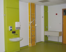 Healthcare Panelling System image