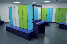 We offer an extensive range of Lockers...to satisfy all your changing area and storage requirements. Specialising in the Leisure, Education and Workplace facility environments 'from creation to installation... you can rest assured'...