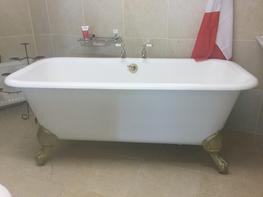 Champagne   French Double Ended Bath image