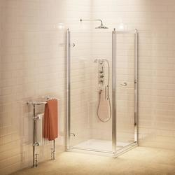 Hinged Shower Door & Side Panel image