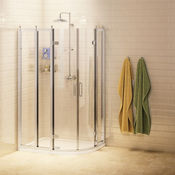 Burlington Off-Set Quadrant <strong>Shower Enclosur</strong>e image