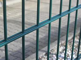 Galvanized Double Wire Fence and Twin Wire Panel image