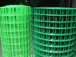 PVC Coated Welded Wire Mesh, Vinyl Coated Welded Wire Meshes image