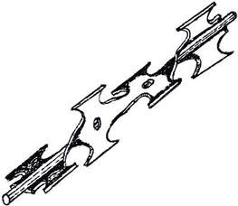 Twisted Razor Barbed Tape - Anping Konhta Razor Wire Factory