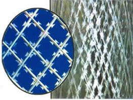 Straight Razor Wire Mesh-Frightening and Stopping Fencing image
