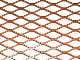 Expanded Copper Mesh image