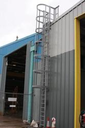 GRP Fibreglass Ladders and Ladder Guards image
