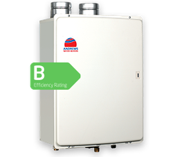 The FASTflo condensing water heater from Andrews Water Heaters provides a continuous flow of hot water instantly and is ideal for installations that are short of space. Unlike old instantaneous water heaters, the revolutionary design measures the incoming wate...