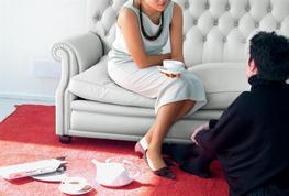 Bonnie - Domestic Living Room Furniture - Poltrona Frau