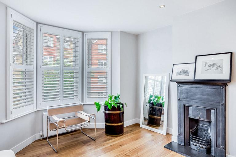 Living room & lounge shutters by Plantation Shutters