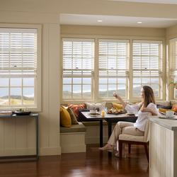 We offer Hunter Douglas and Paradise ranges featuring various finishes and textures. The range is available in 15mm, 25mm, 35mm and 50mm width slats. All blinds are made with colour co-ordinating head and bottom rails and ladder braid or ladder tape. 25mm blin...