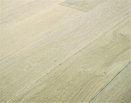 Whitewashed Oak Flooring image