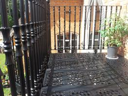 VICTORIAN BALCONY WITH VICTORIAN BALUSTERS image
