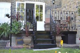 VICTORIAN BALCONY WITH INFILL PANEL image