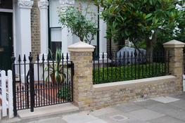 WALL TOP RAILINGS image