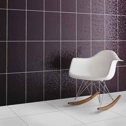 Plum Pressed Mosaic Wall image