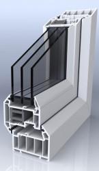 PVC-U Triple Glazed Windows image