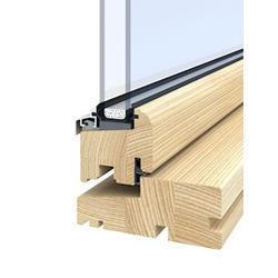 Outward Opening Timber Windows image