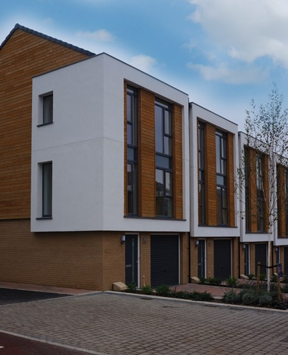 European Redwood Timber Cladding By Norclad Limited