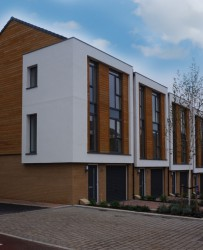 European Redwood Timber Cladding image