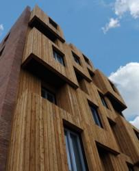 European and UK Larch Timber Cladding image