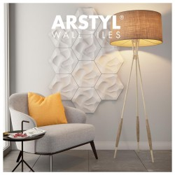 Arstyl Wall Tile CORAL 1pc - NMC - Copley