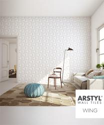 Arstyl Wall Tile WING 1pc - NMC - Copley
