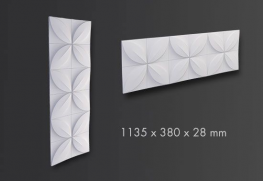 FLOWER Arstyl® 3D Wall Panel 1pc - NMC - Copley