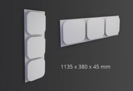 ICON Arstyl® 3D Wall Panel 1pc - NMC - Copley