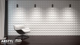 SQUARE Arstyl® 3D Wall Panel 1pc - NMC - Copley