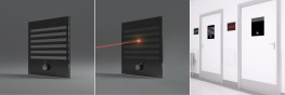 'Laserbloc' Privacy Vision Panel (With Blind & Integrated Universal Laser Protection) image