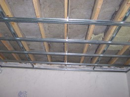 Hush Suspended Ceilings - Metal Frame Ceiling System with acoustic hangers - Hush Acoustics