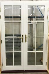 TRADITIONAL FRENCH AND SINGLE DOORS image