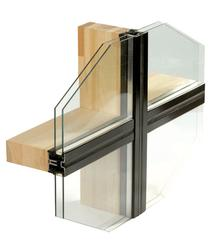 TIMBER-ALU CURTAIN WALL - Megrame Export - Worldwide Glazing Solutions