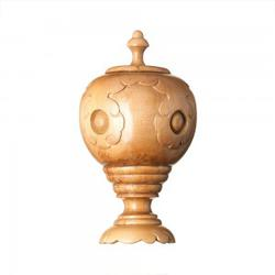 F265   Moroccan Urn Wood Finial image
