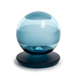 Gf55   Denim Ball With Frosted Detail Glass Finial image